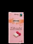 White chocolate with raspberries    undefined   Սպիտակ շոկոլադ ազնվամորիով